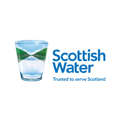Scottish Water, Trusted to Serve Scotland logo
