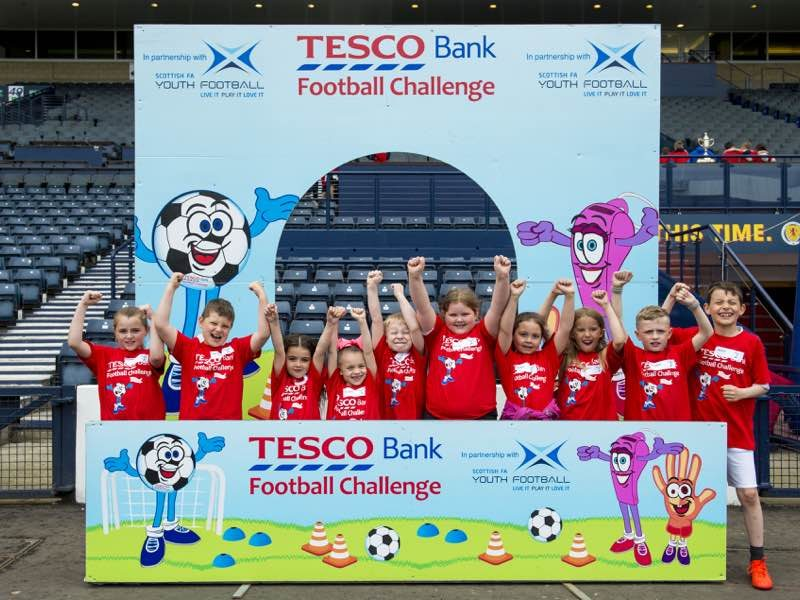 Tesco Bank Football Challenge National Festival Walker Road Primary School, Glasgow