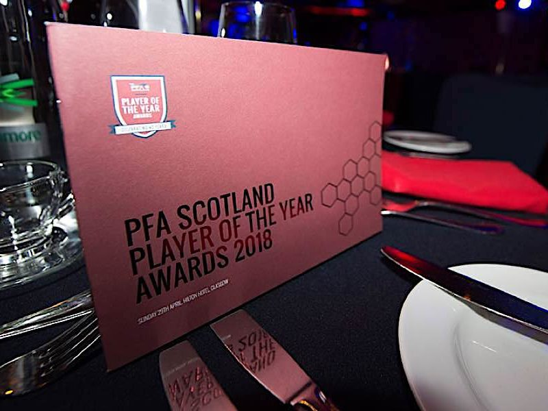 PFA Scotland Player Of The Year Awards 2018 - ceremony