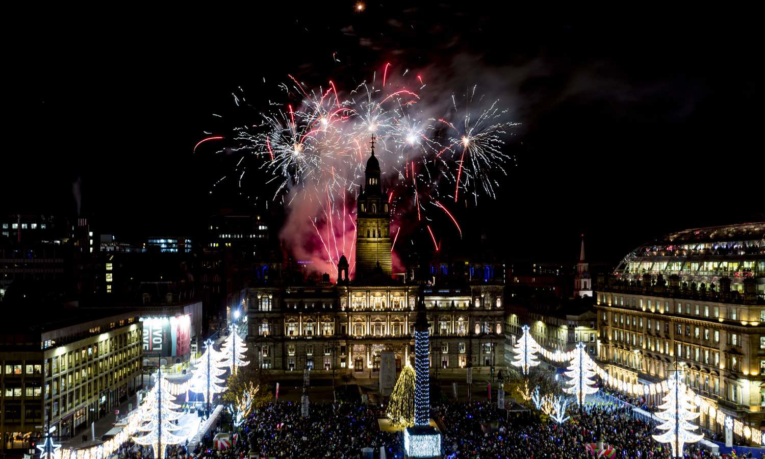 Let there be light- The Glasgow Christmas lights are now on!